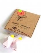 boucle bois facettes -rose pack front 3-4
