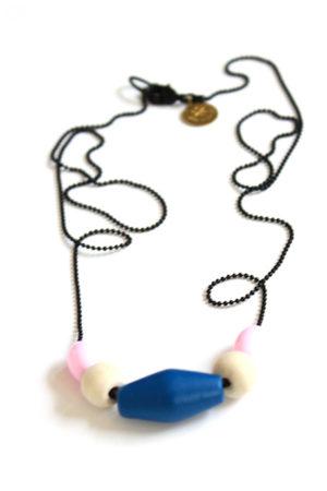 pastel necklace by pop-a-porter