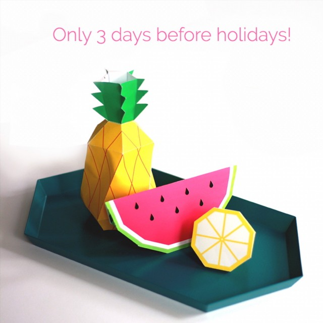 Im going on holidays! please notice that all orders placedhellip