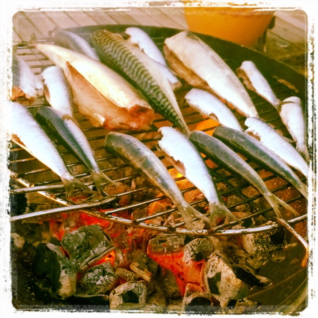 sardines on the barbecue dreamyholidays foodie  fishes maqueraux barbecuehellip