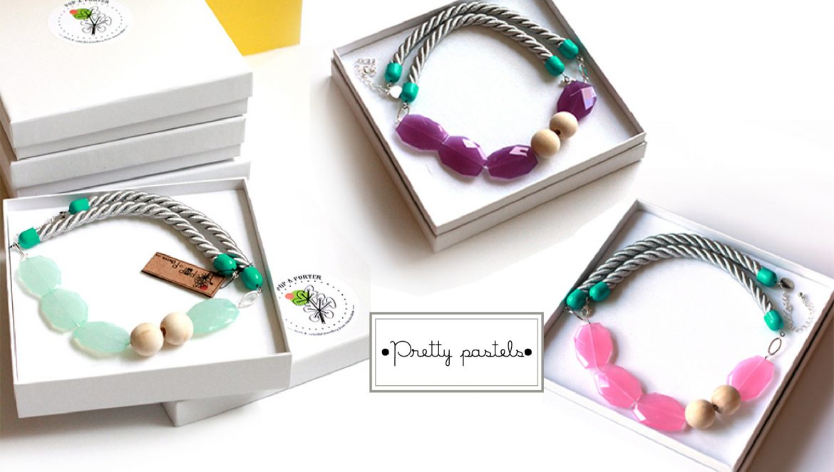 pretty pastels rope collection by pop-a-porter