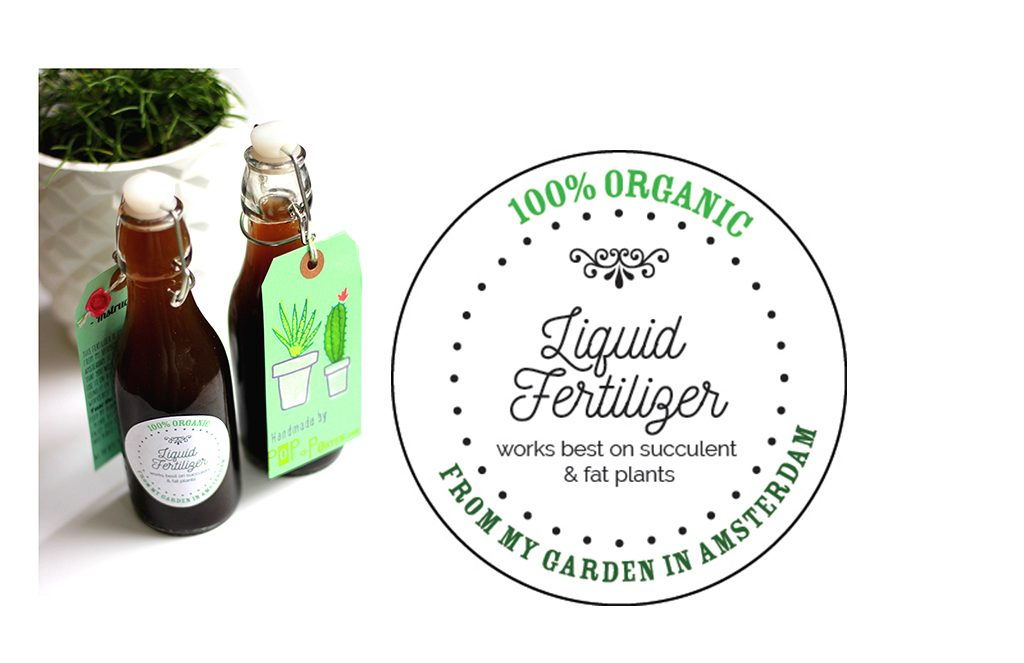 New liquid fertilizer by pop-a-porter.