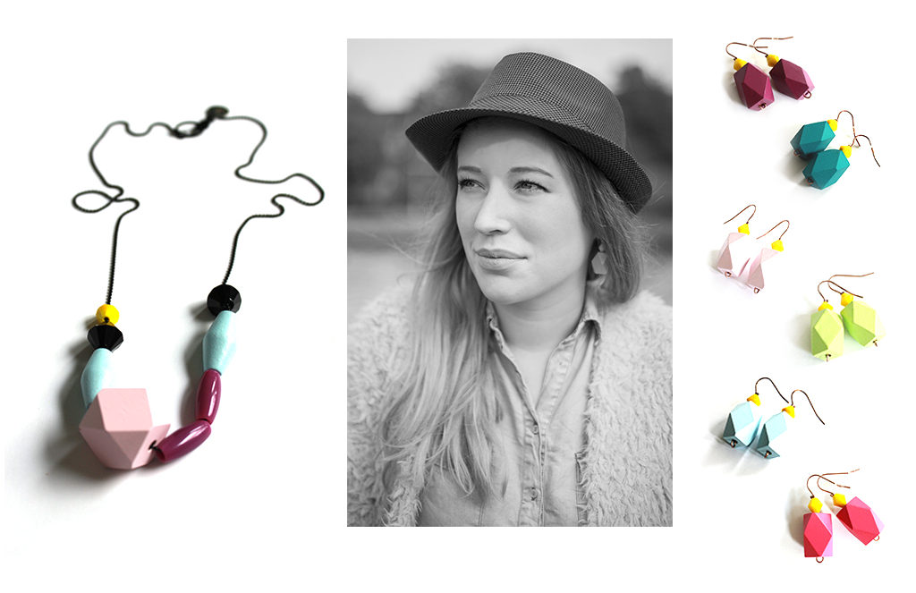 bright & colorful jewellery collection, pastel vitamins from pop-a-porter