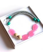rope necklace_pretty_pastel_pink