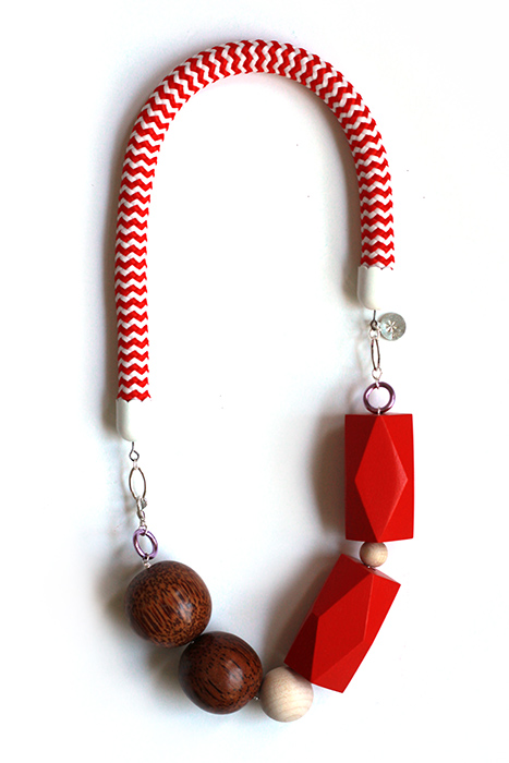 capsule collection rope necklace by pop-a-porter