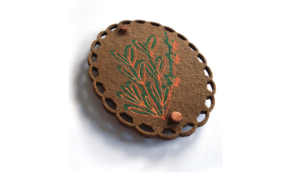 brooch 'buisson' by pop-a-porter