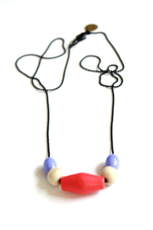 pastel necklace by pop-a-porter
