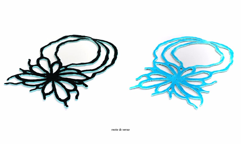 soft flower- recto & verso