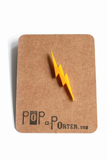 Thunder plexiglas brooch to rock your day // superhero brooch !
