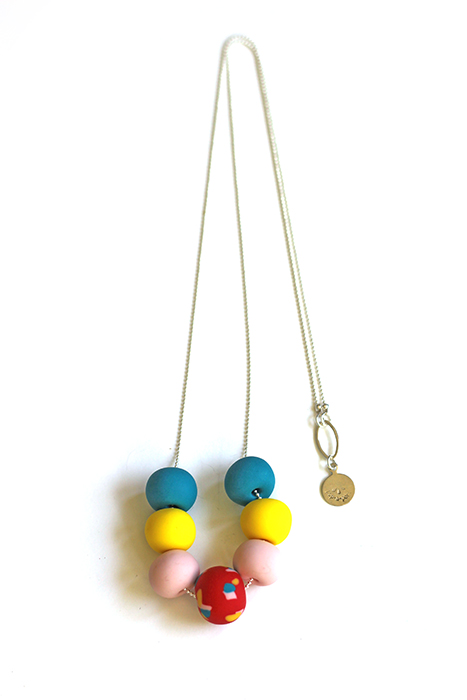 terrazzo necklace by pop-a-porter