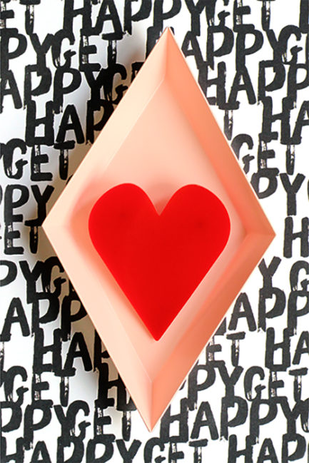 statement heart brooch by pop-a-porter