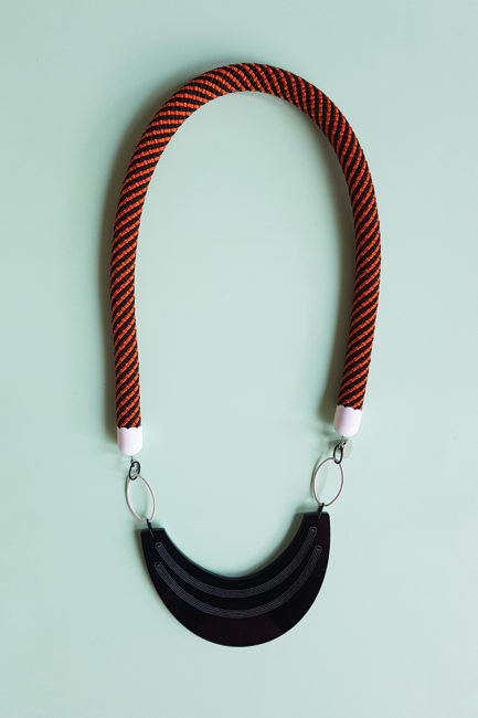 statement rope necklace