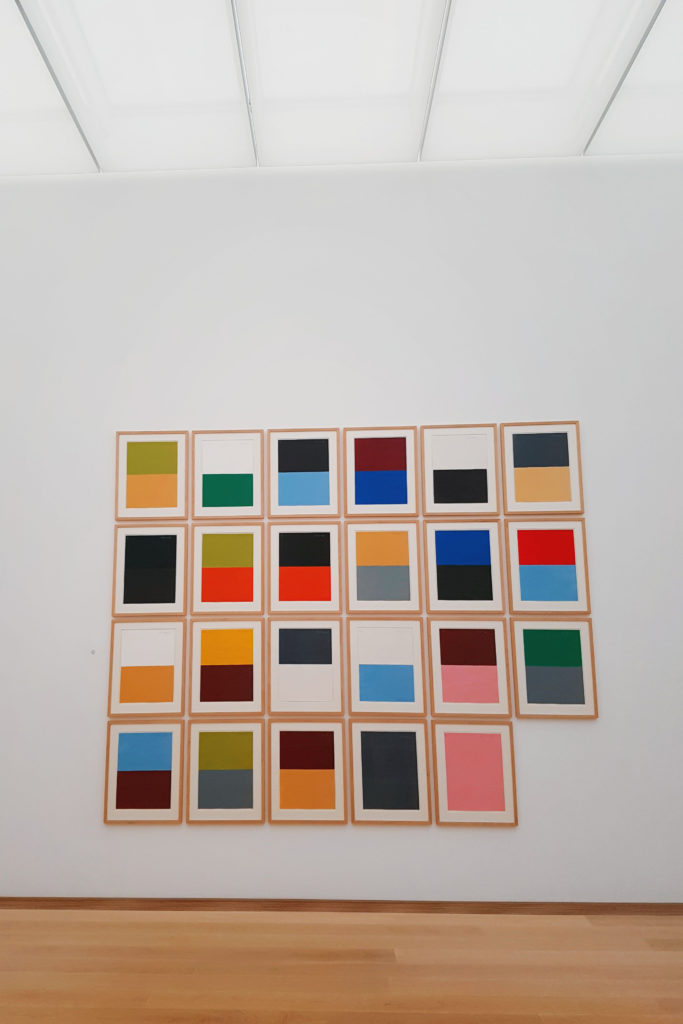 Museum Voorlinden abstract art Günter Förg