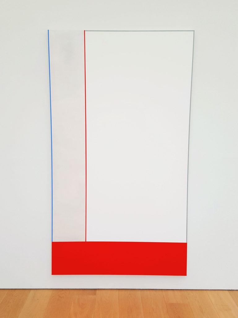museum Voorlinden abstract art Alan Uglow