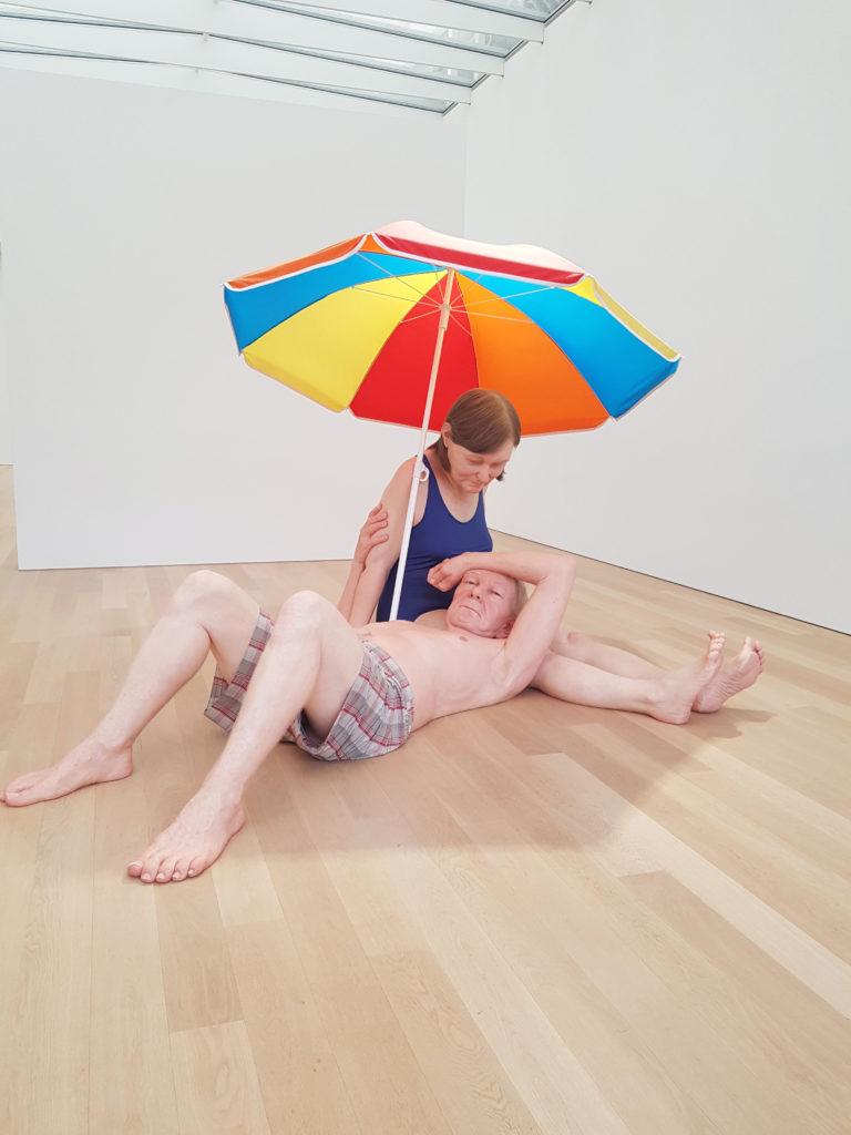 museum voorlinden art Ron Mueck