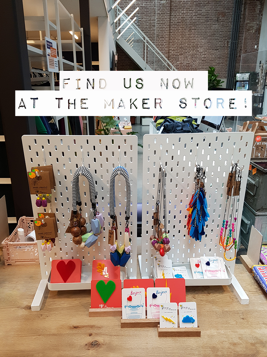 new retailer in Amsterdam for Pop-a-porter's jewelry